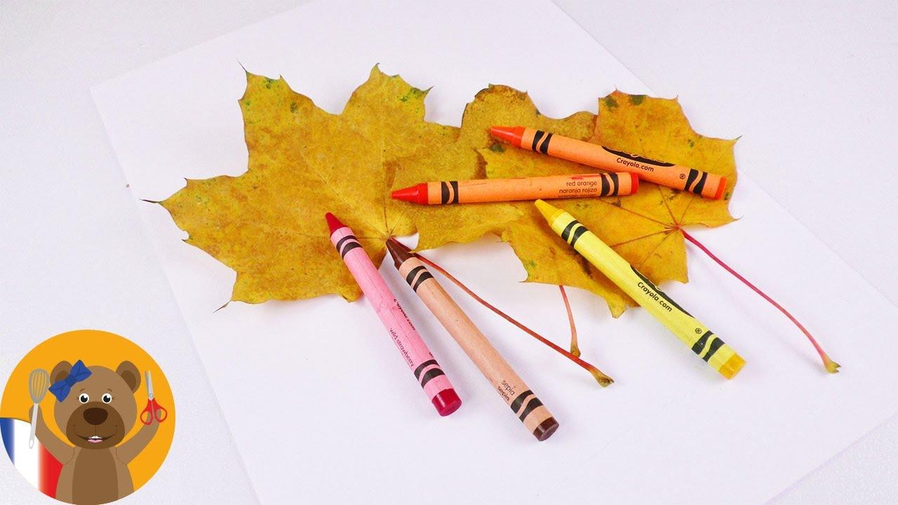 Dessin D'automne À Faire Soi-Même | Décoration Pour La Chambre Avec Des  Feuilles D'automne tout Dessin De Feuille D Automne