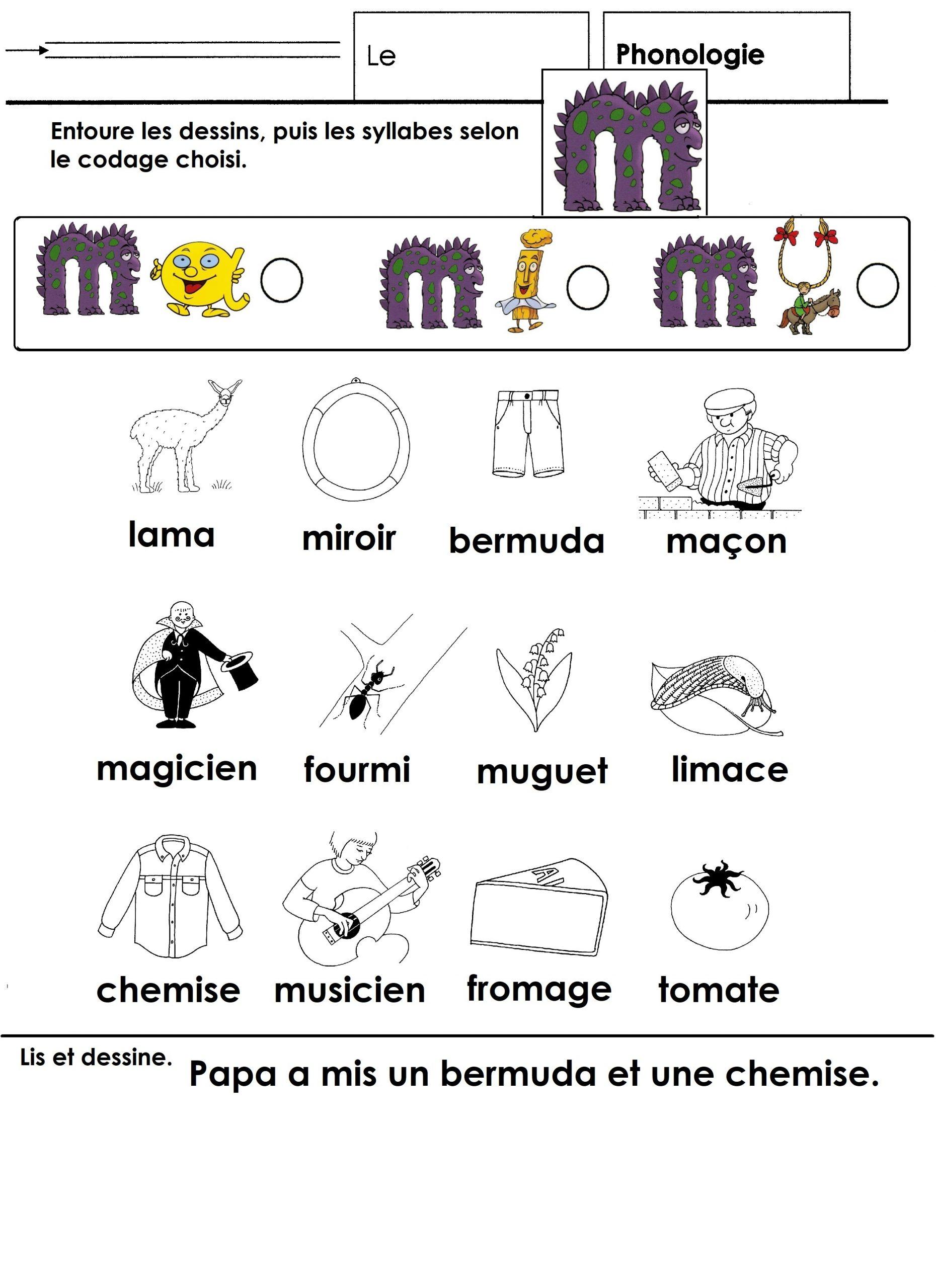 Dessin De La Lettre M - Phonologie Cp Avec L'aide Des Alphas tout Coloriage Magique Alphabet Cp