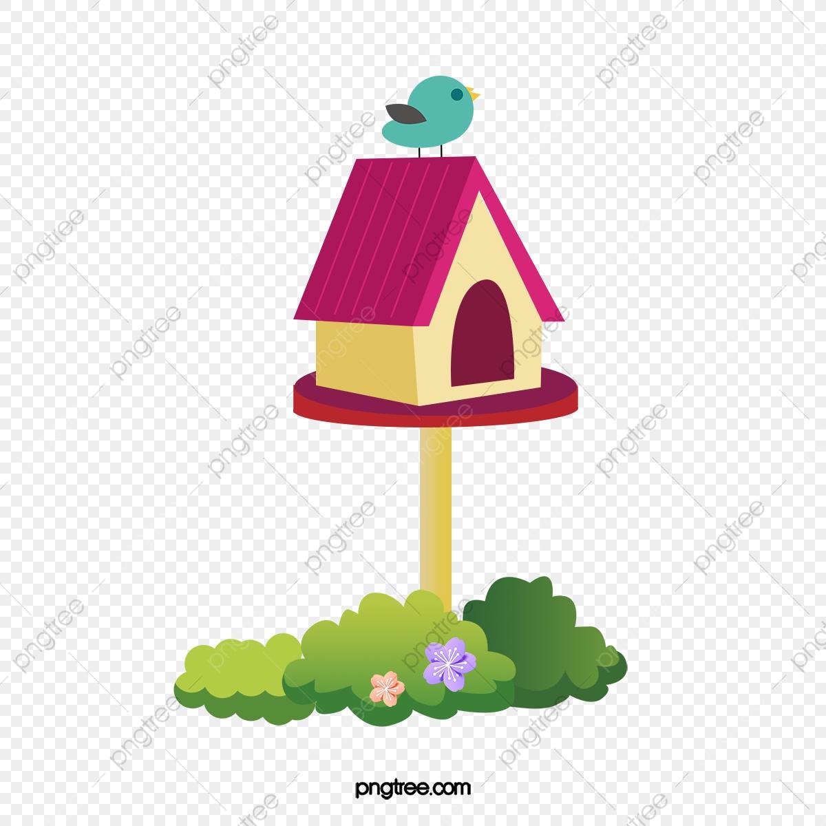Dessin D'oiseaux De Vecteur, Vert De L'oiseau, Nid, Cabane concernant Dessin D Oiseau Simple