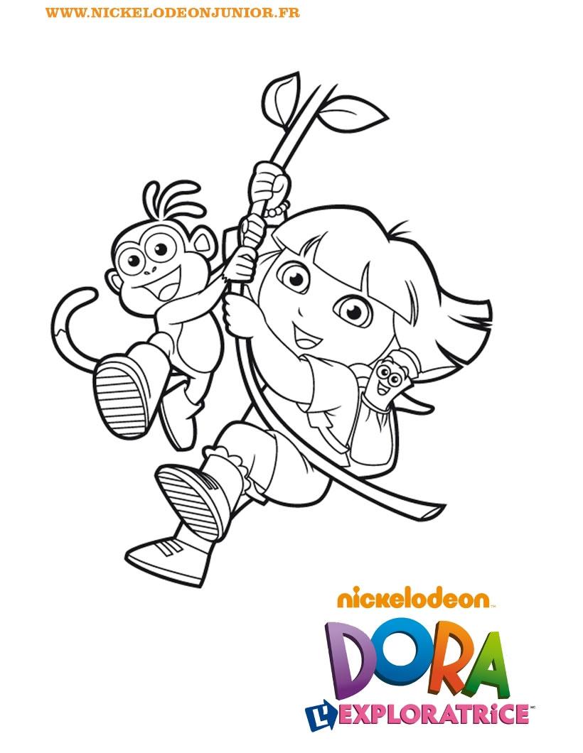 Dessin Dora En Ligne 3 Ans dedans Coloriage En Ligne 3 Ans