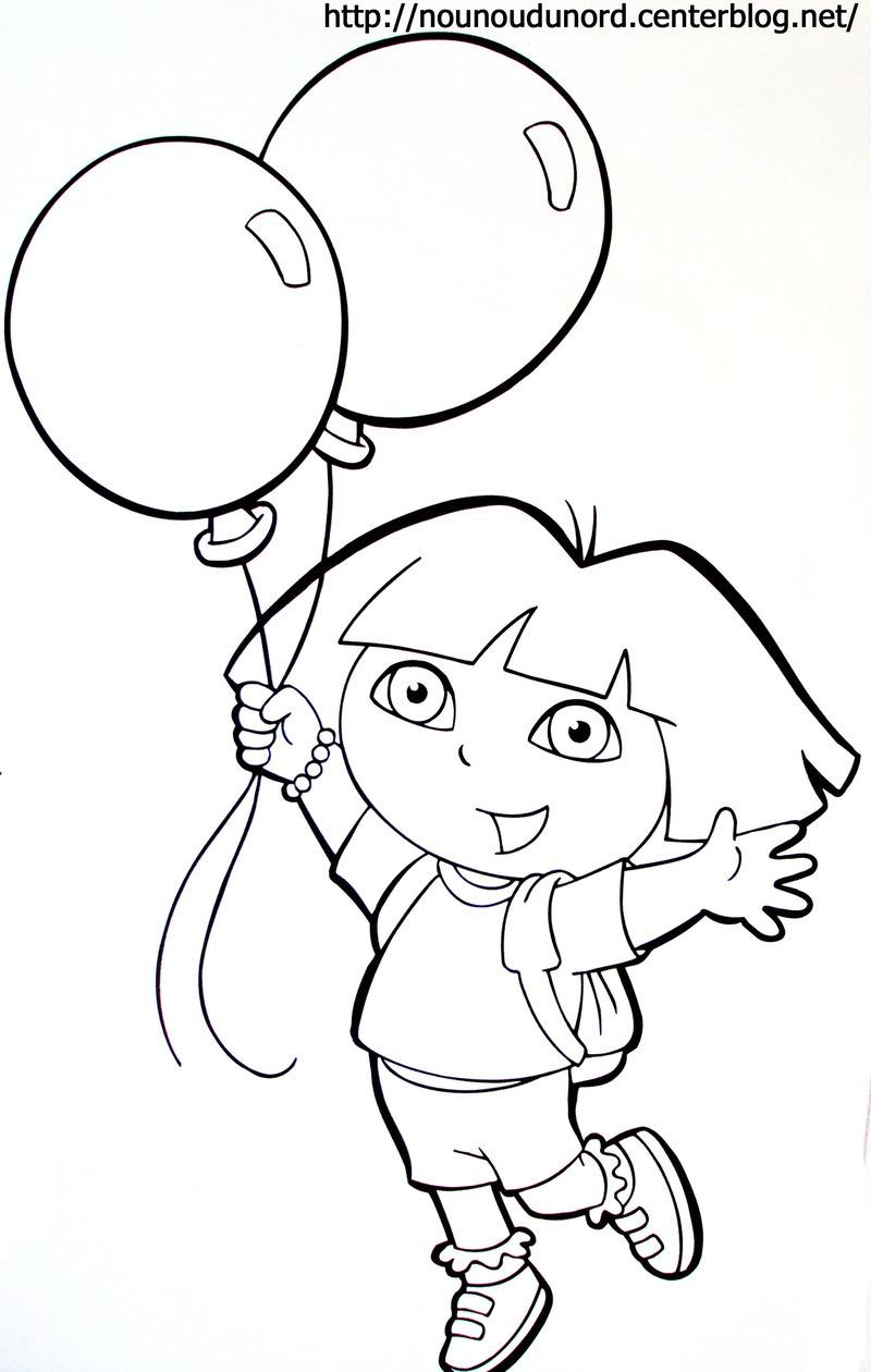 Dessin Dora Et La Princesse Des Neiges encequiconcerne Coloriage Dora Princesse