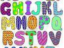 Dessin En Couleurs À Imprimer : Chiffres Et Formes concernant Lettre De L Alphabet A Imprimer Et Decouper