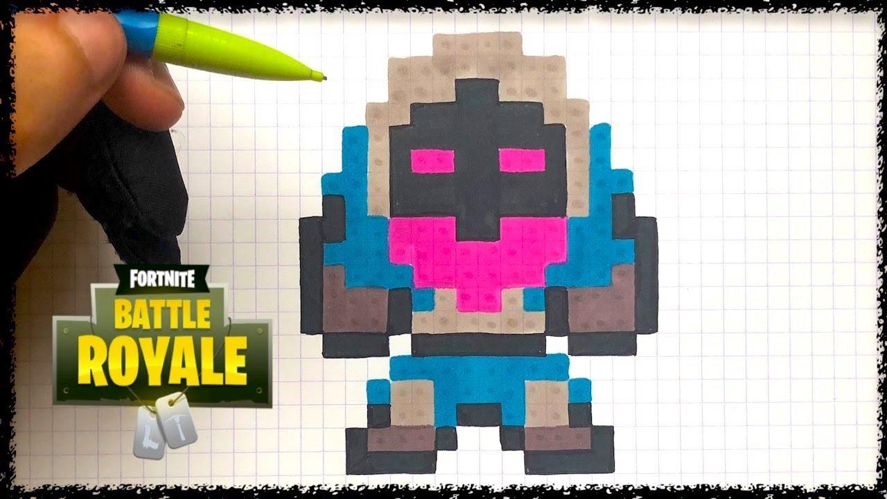 Dessin Fortnite Nomade Festival | Fortnite - 1 000 V-Bucks Pc à Jeux Dessin Pixel