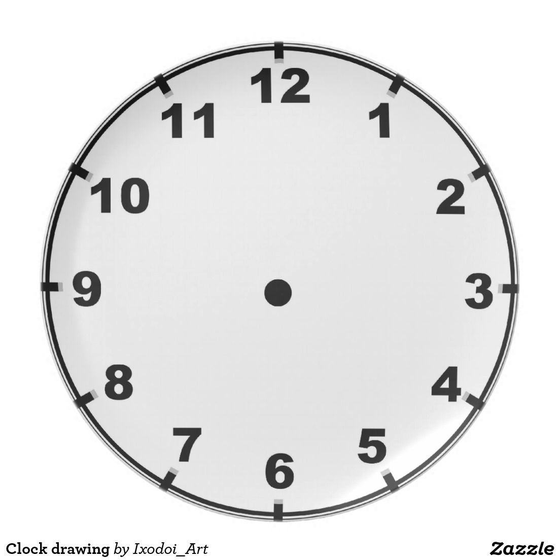 Dessin Horloge   Horloge Dessin pour Dessin D Horloge