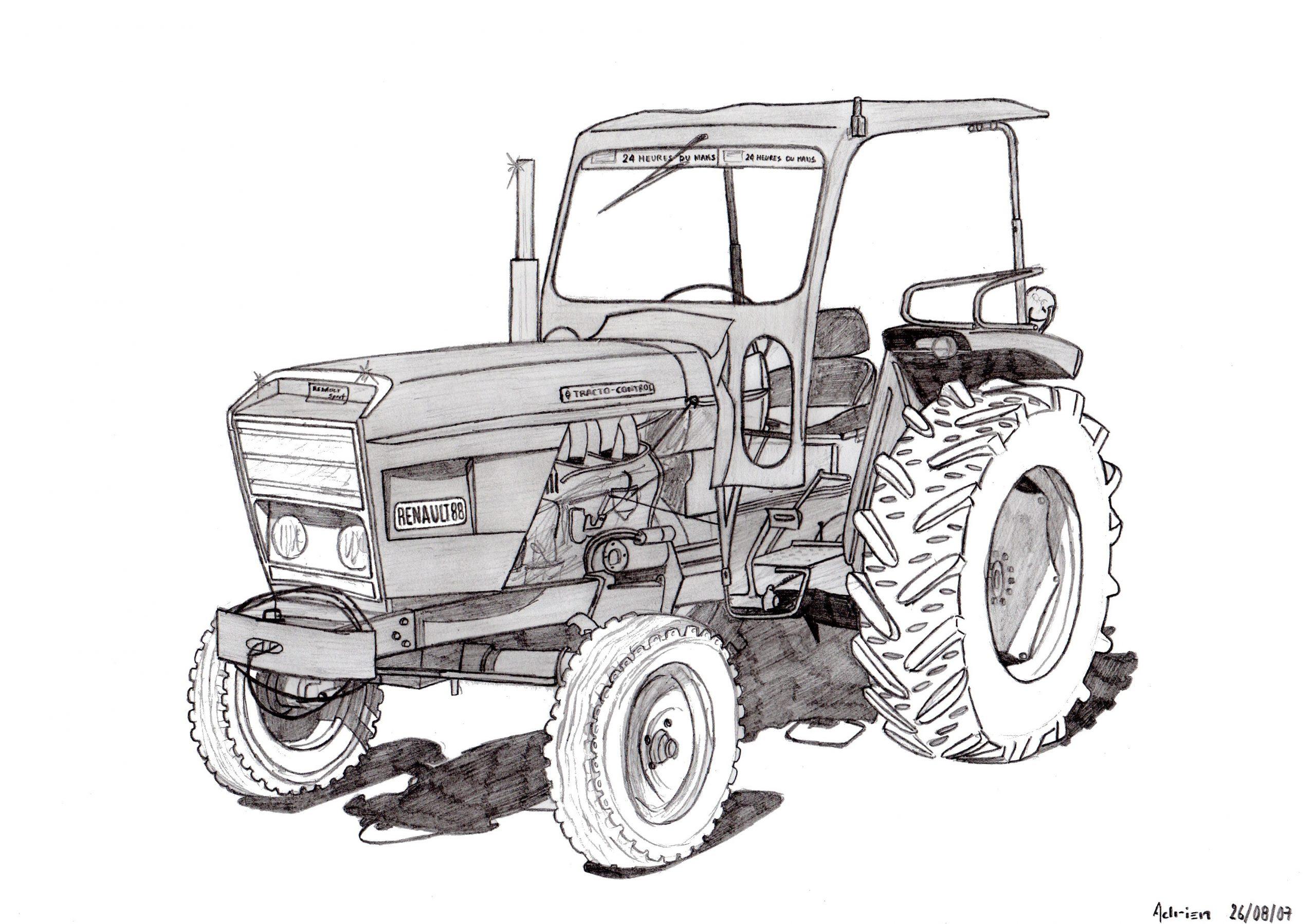 Dessin Imprimer Tracteur New Holland - Dernier H intérieur Dessin De Tracteur À Colorier