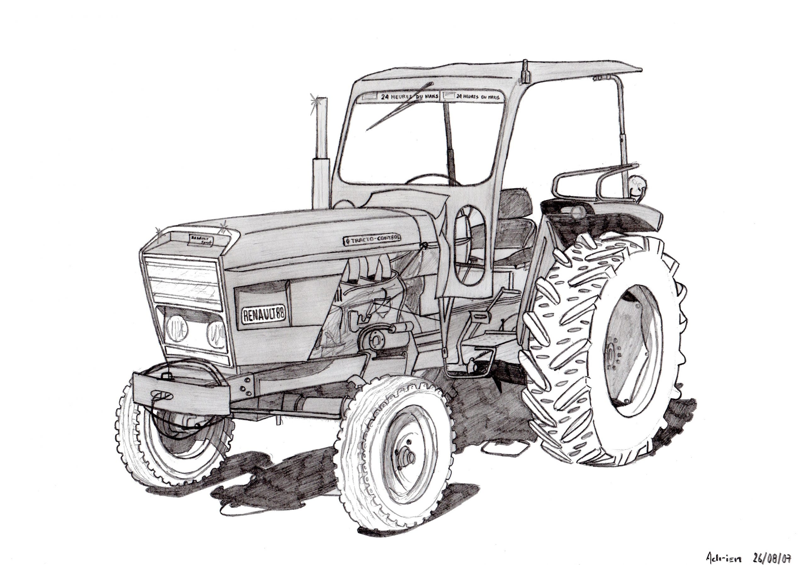 Dessin Imprimer Tracteur New Holland - Dernier H serapportantà Dessin Animé De Tracteur John Deere