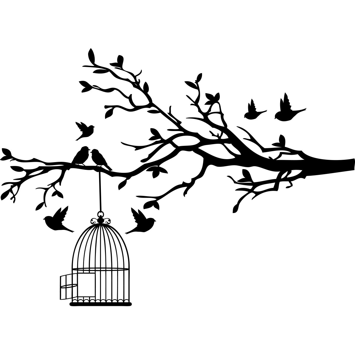 Dessin Maison D'oiseau - Dernier B destiné Dessin D Oiseau Simple