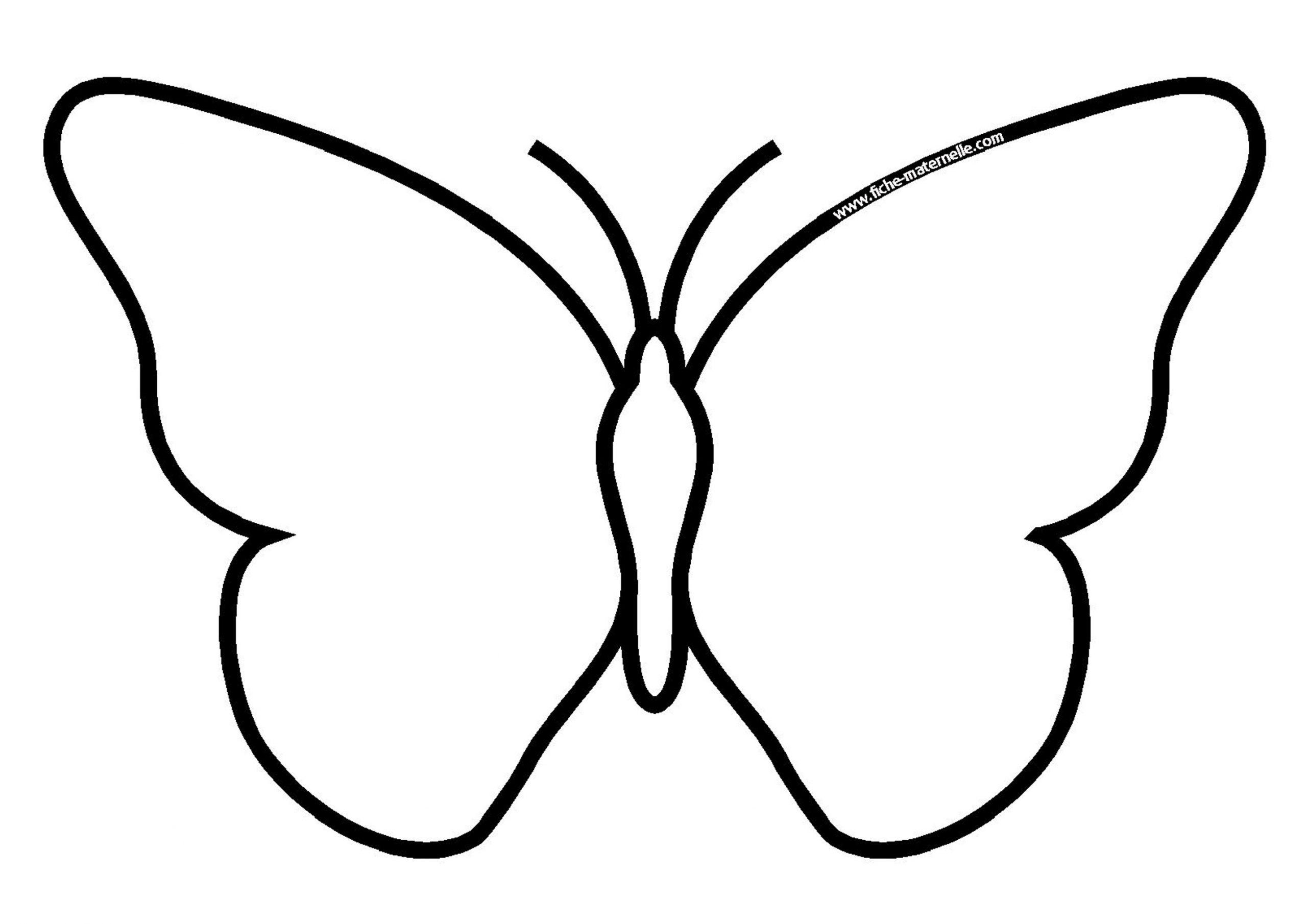 Dessin Papillon | Papillon A Imprimer tout Dessin Papillon À Colorier