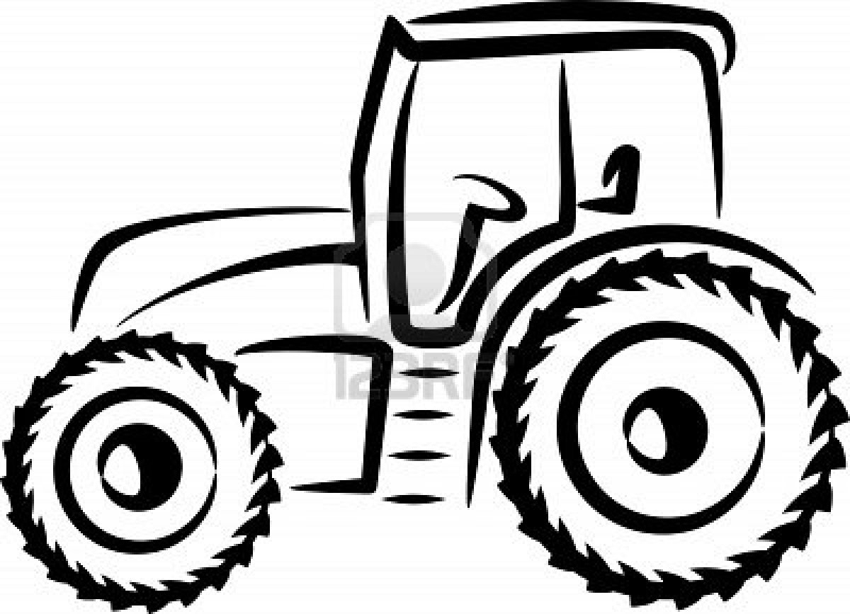 Dessin Tracteur 2. Dessin Imprimer Et Colorier Dun Tracteur à Tracteur À Colorier