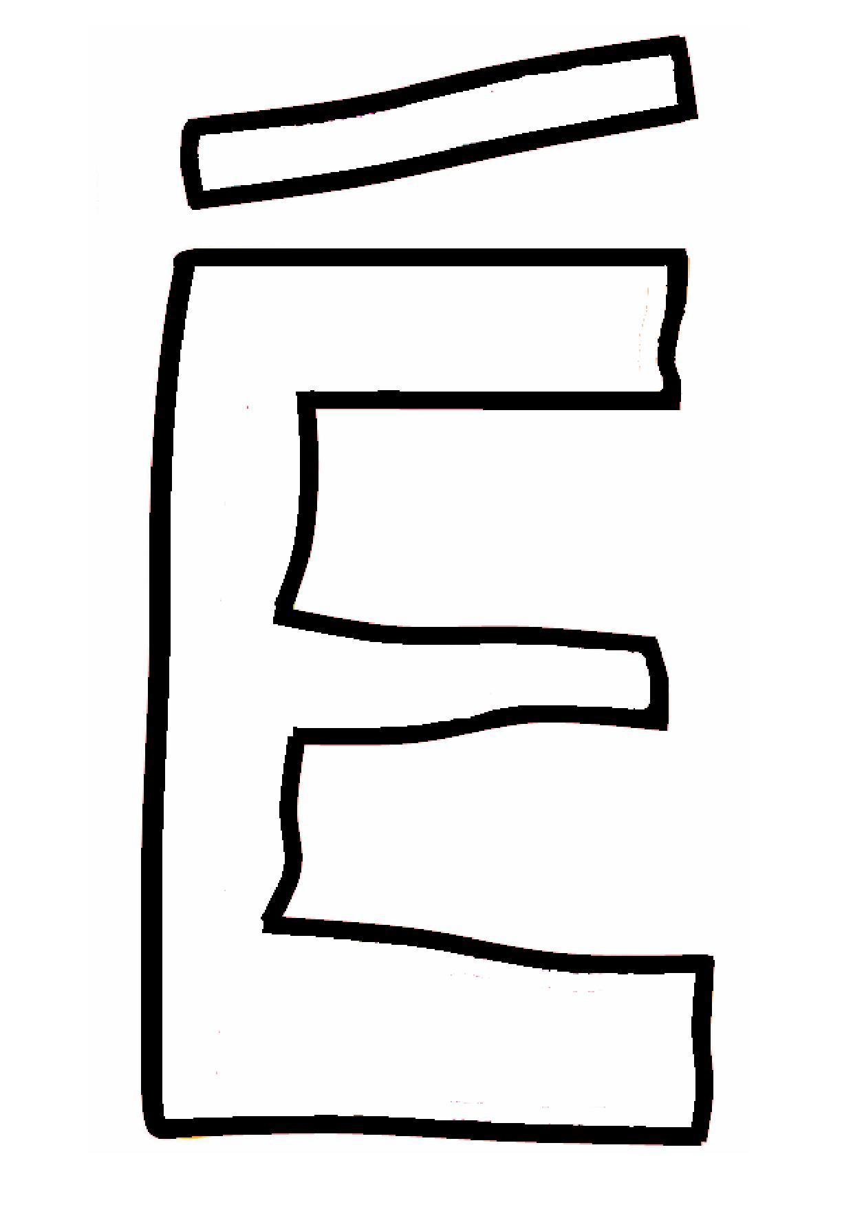 Dessins En Couleurs À Imprimer : Lettre E, Numéro : 588338 intérieur Dessin Lettre E