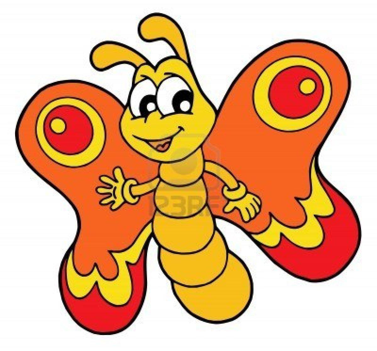 Dessins En Couleurs À Imprimer : Papillon, Numéro : 165866 destiné Papillon À Dessiner
