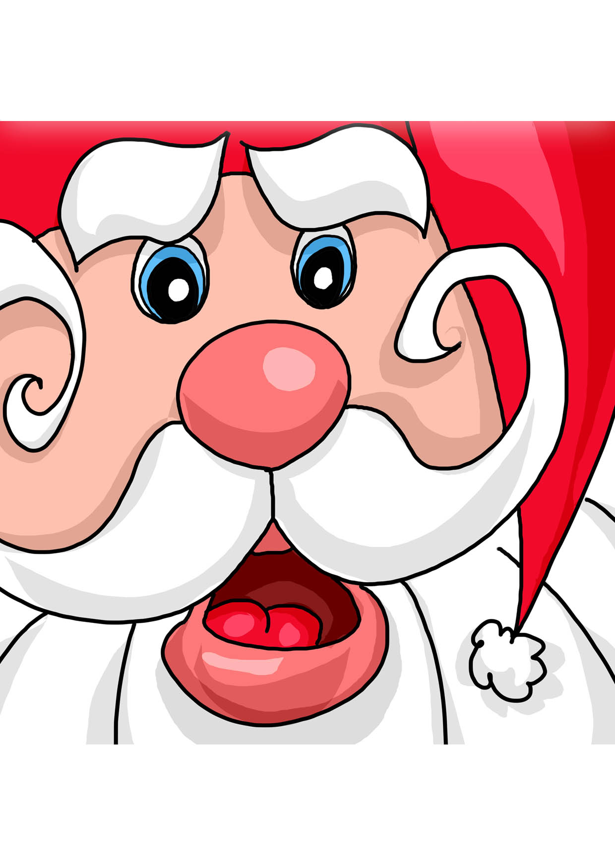 Dessins En Couleurs À Imprimer : Père Noël, Numéro : 46817 encequiconcerne Pere Noel A Imprimer Et A Decouper
