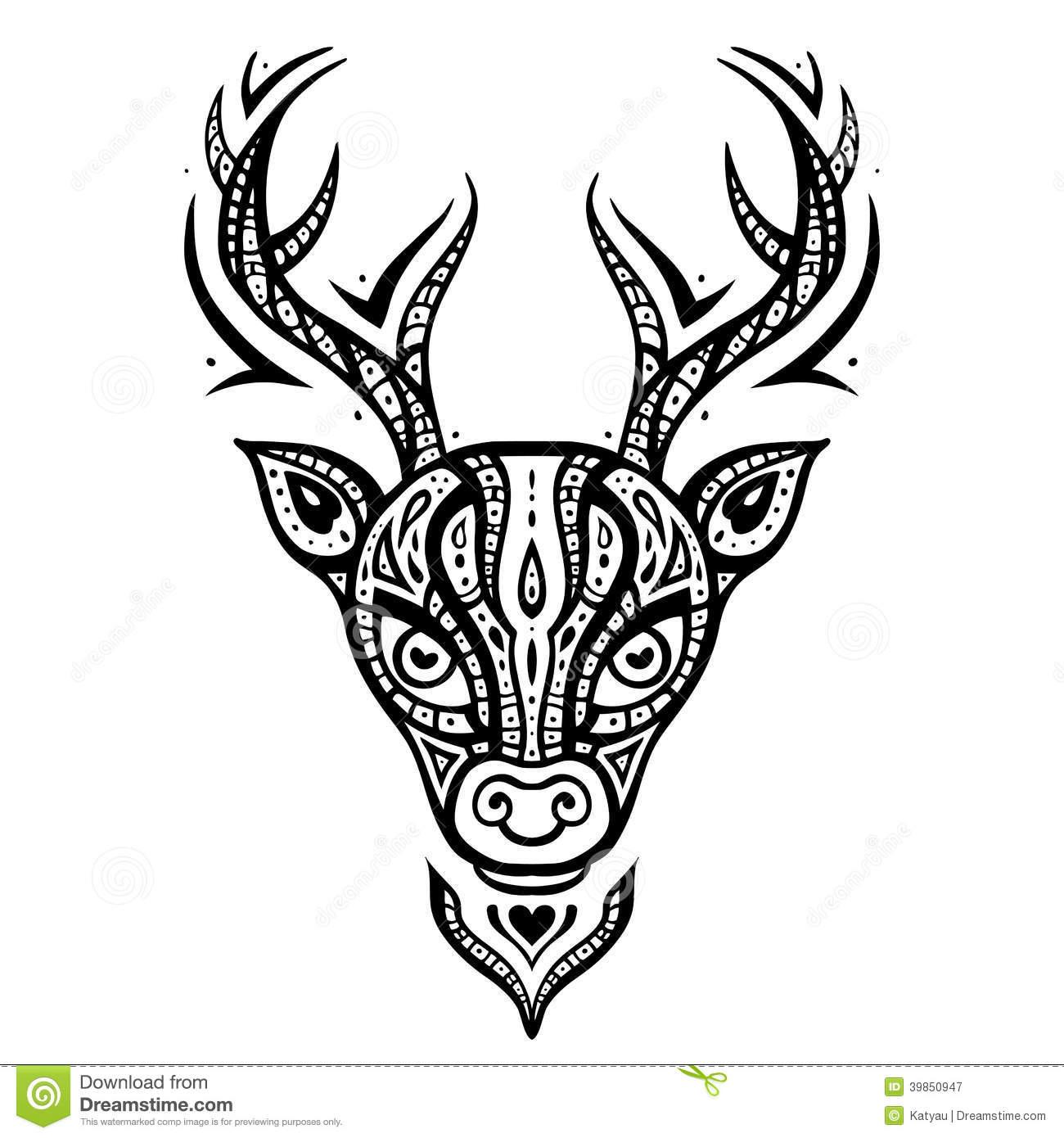 Dessins Gratuits À Colorier - Coloriage Caribou À Imprimer à Caribou Dessin