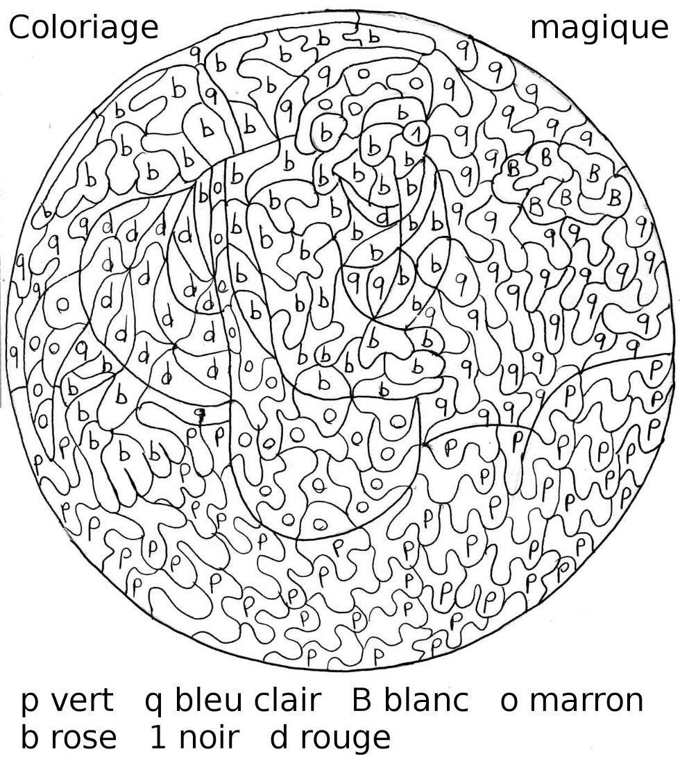 Dessins Gratuits À Colorier - Coloriage Difficile À Imprimer dedans Coloriage Magique Dur