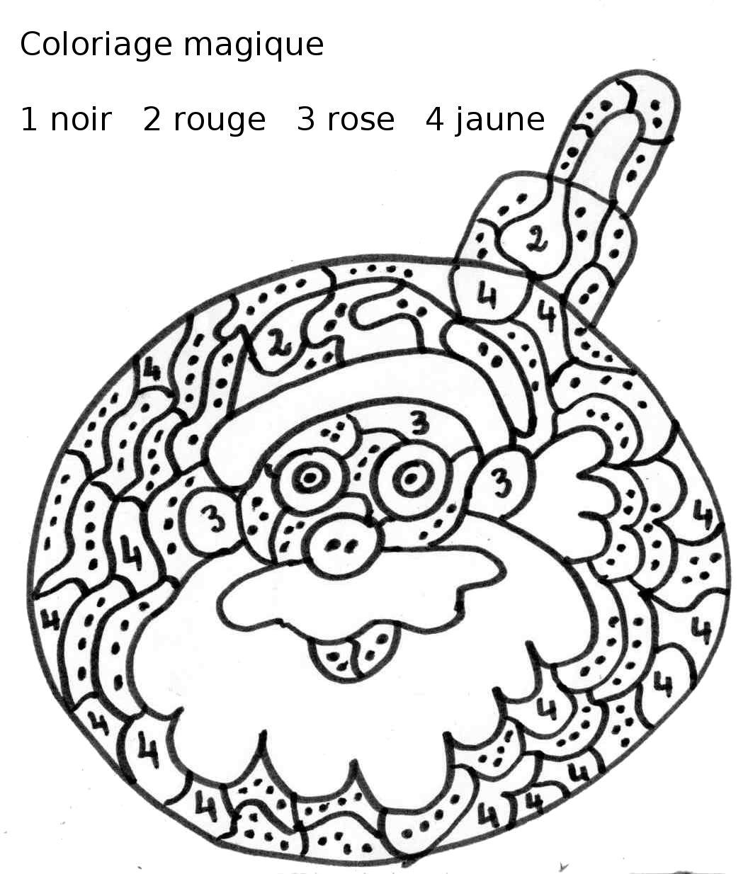 Dessins Gratuits À Colorier - Coloriage Magique Maternelle À avec Coloriage Magique 4 Ans