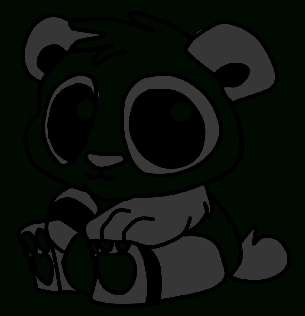 Dessins Gratuits À Colorier - Coloriage Pandas À Imprimer pour Panda À Colorier