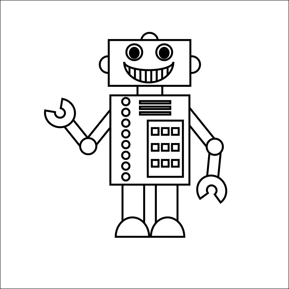 Dessins Gratuits À Colorier - Coloriage Robots À Imprimer encequiconcerne Coloriage Robot À Imprimer