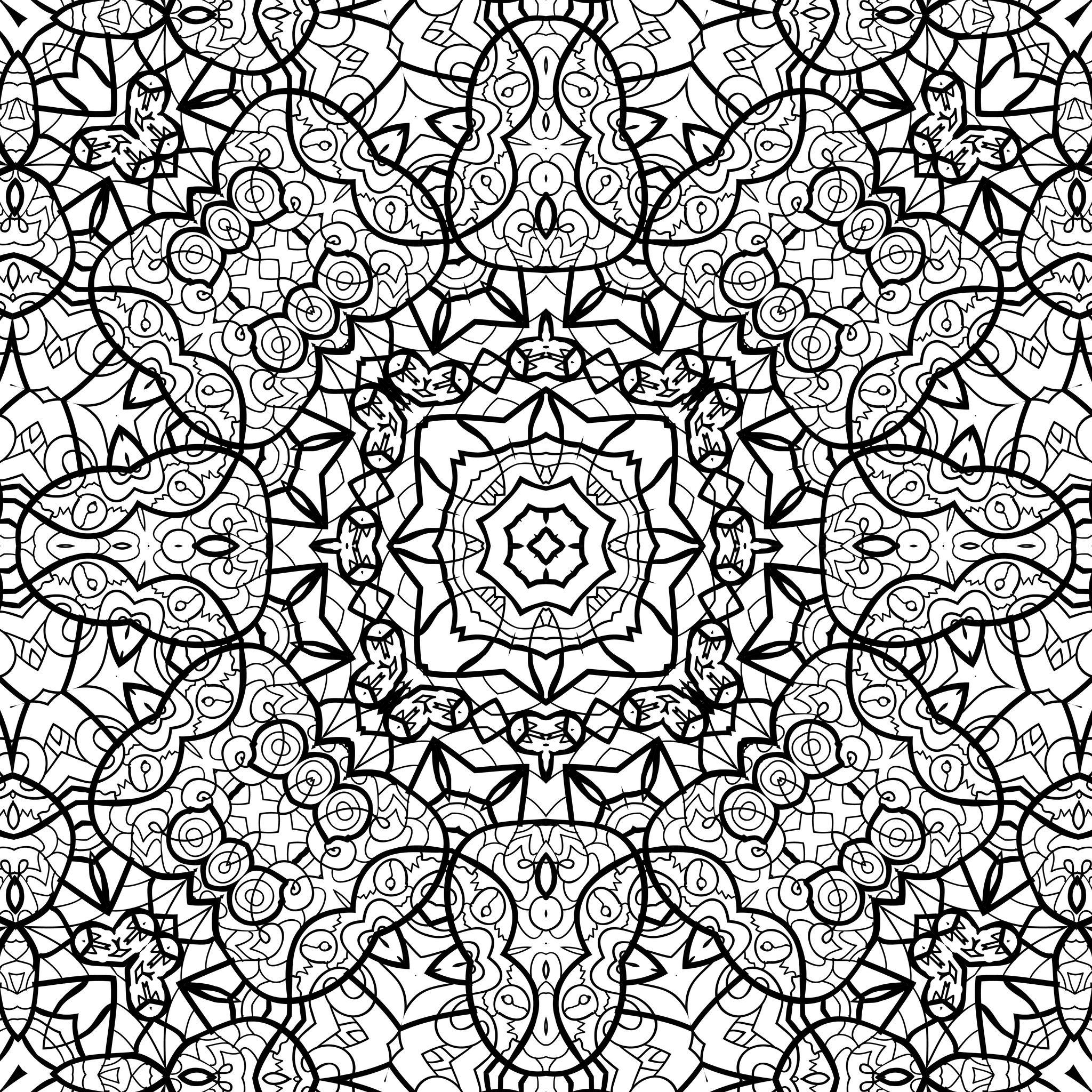 Dessins Gratuits À Colorier - Coloriage Zen À Imprimer dedans Image Zen A Imprimer