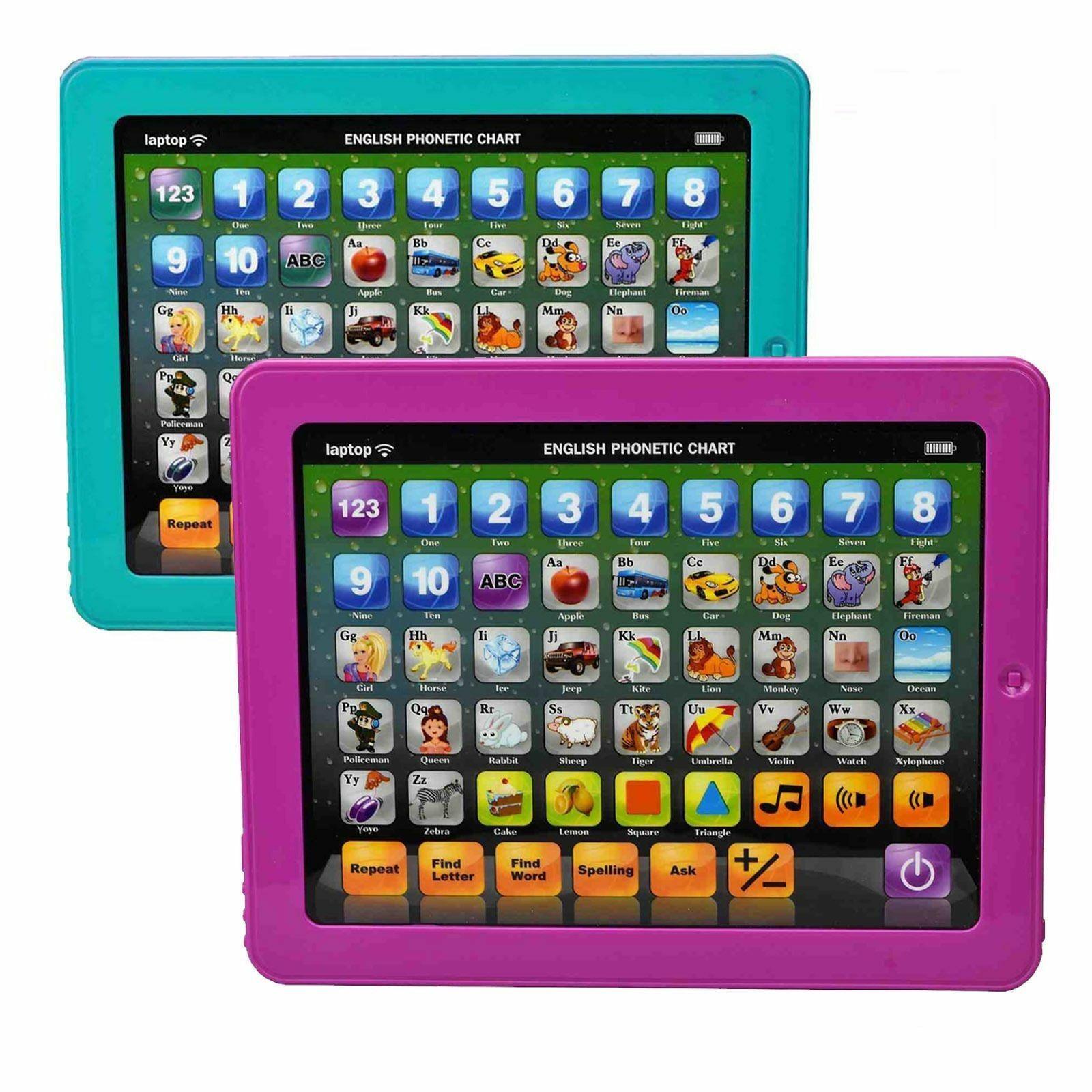Détails Sur Mon Premier Ordinateur Portable Tablette Ipad Enfants Éducatif  Jeu Jouet Neuf pour Ordinateur Educatif Enfant