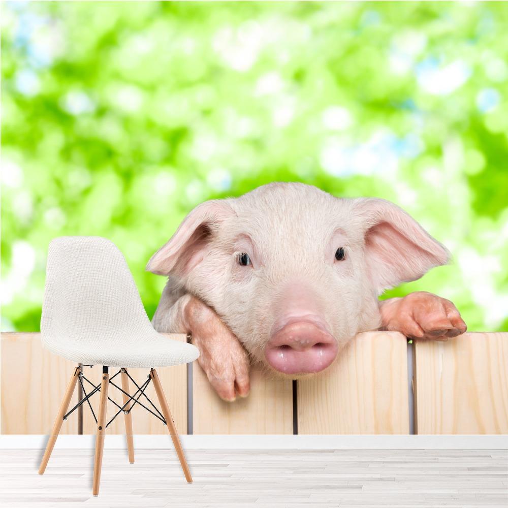 Détails Sur Piglet Pig Papier Peint Photo Animaux De La Ferme Papier Peint  Salle De Jeux De dedans Jeux Les Animaux De La Ferme