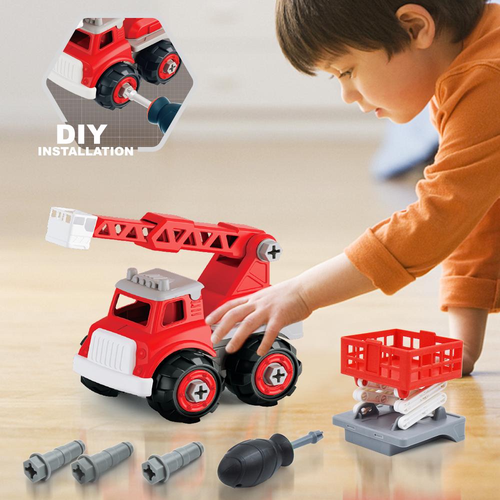 Détails Sur Voiture Enfant Bébé Camion Pompier Jeux De Puzzle Jouet  Activites Manuelles Jeux à Jeux Voiture Bebe