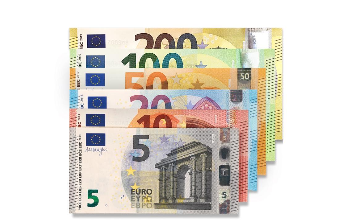Détection De Faux Billets pour Pièces Et Billets En Euros À Imprimer