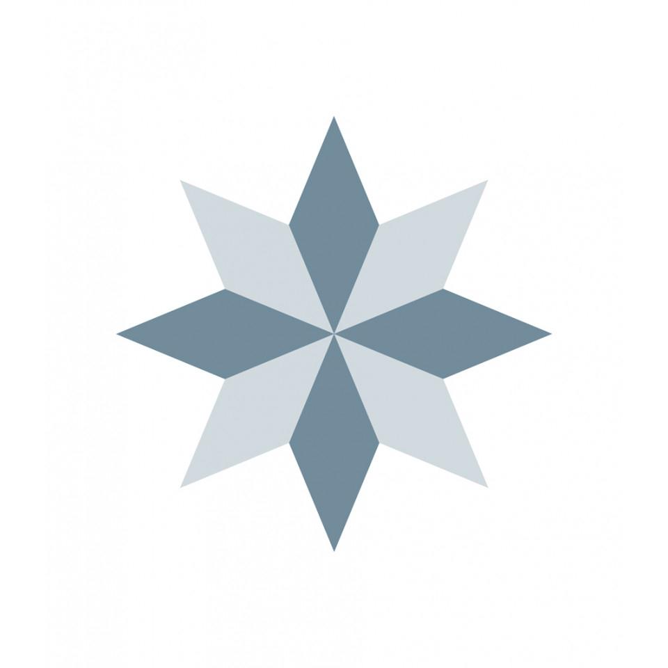 Diamond Rosace Adhesive Tiles tout Image De Rosace