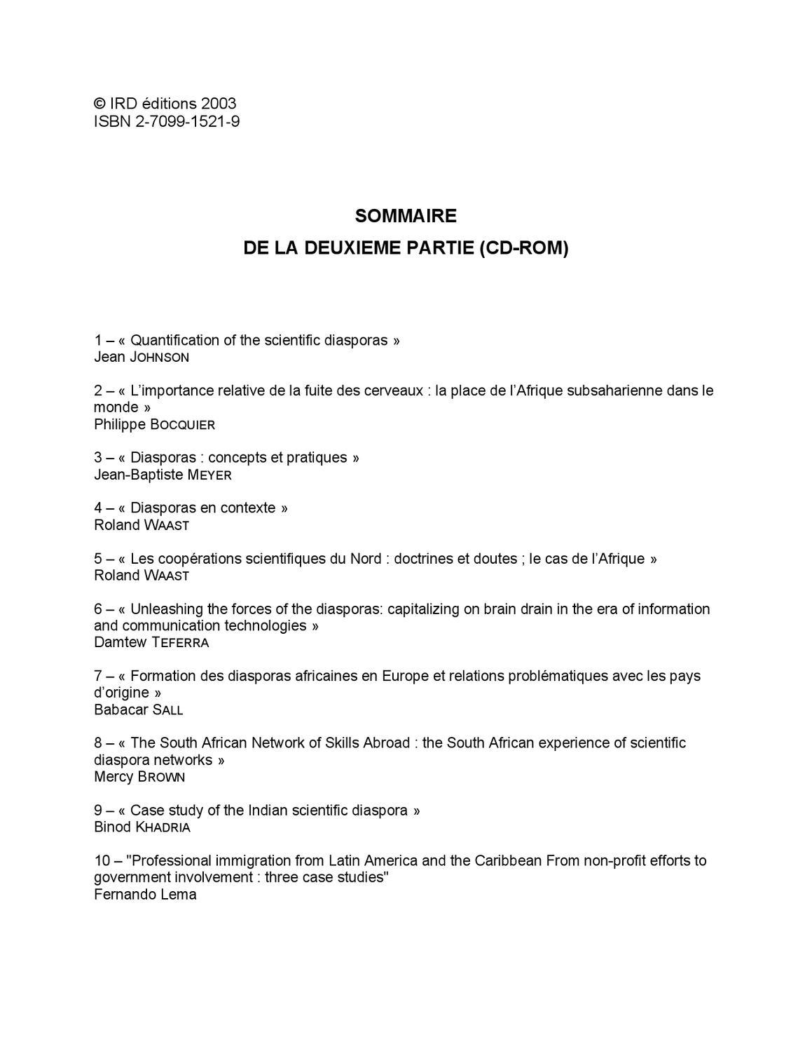 Diasporas Scientifiques By Red Uruguay Encuentro - Issuu intérieur Exercice Gs En Ligne