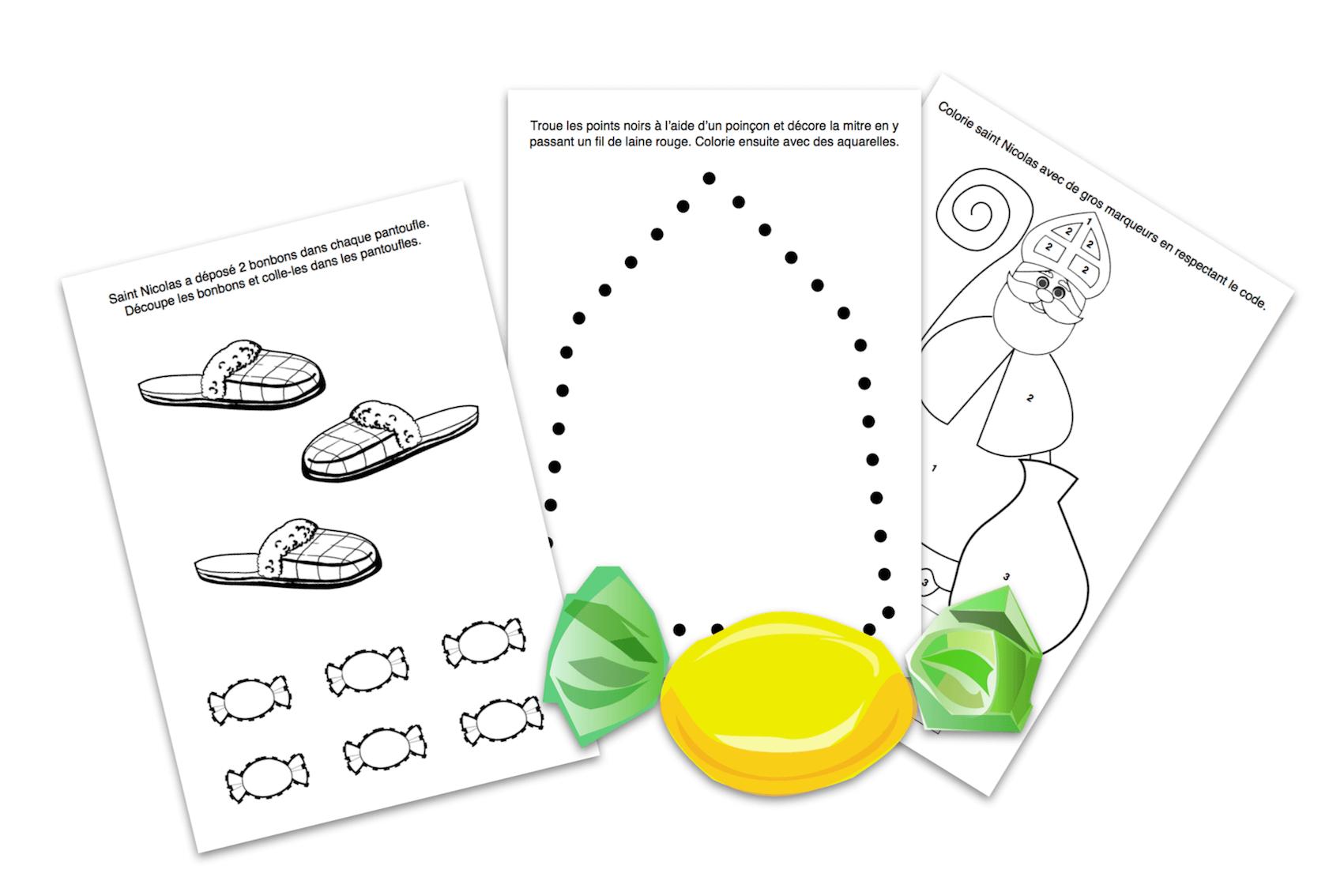 Didactécole - Exercices Pour La Classe Maternelle destiné Exercice Petite Section En Ligne
