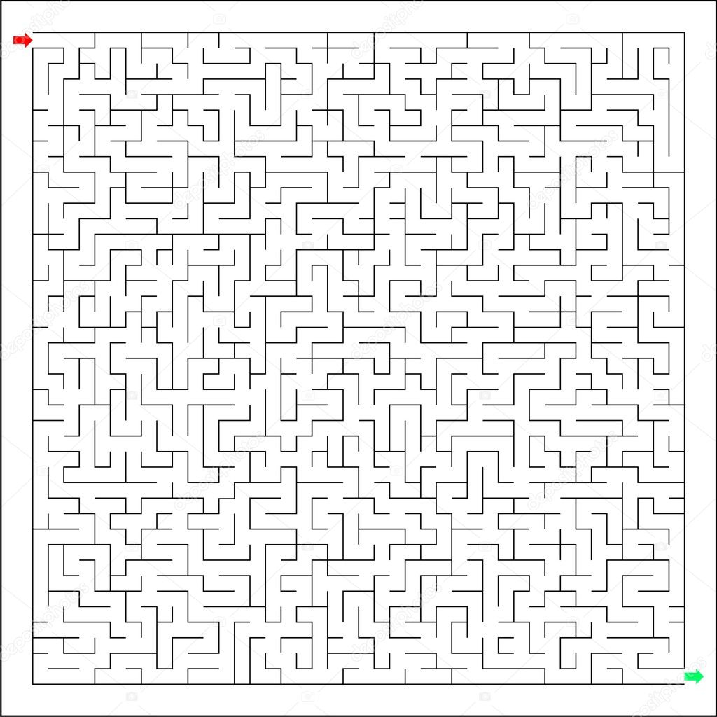 Difficult And Hard Labirynth, Maze, Brain Teaser, The Riddle serapportantà Labyrinthe Difficile