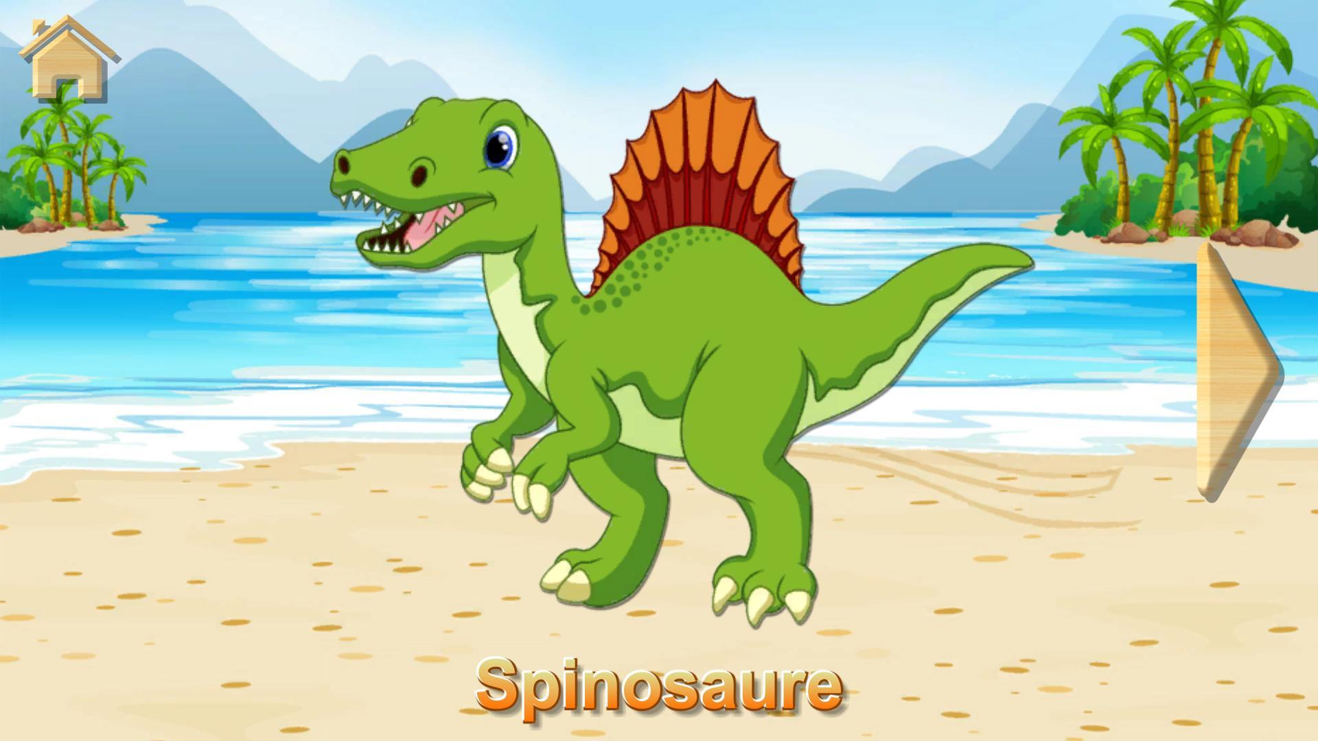 Dino Puzzle - Jeux Educatif Gratuit Pour Android dedans Jeux Educatif 5 Ans Gratuit