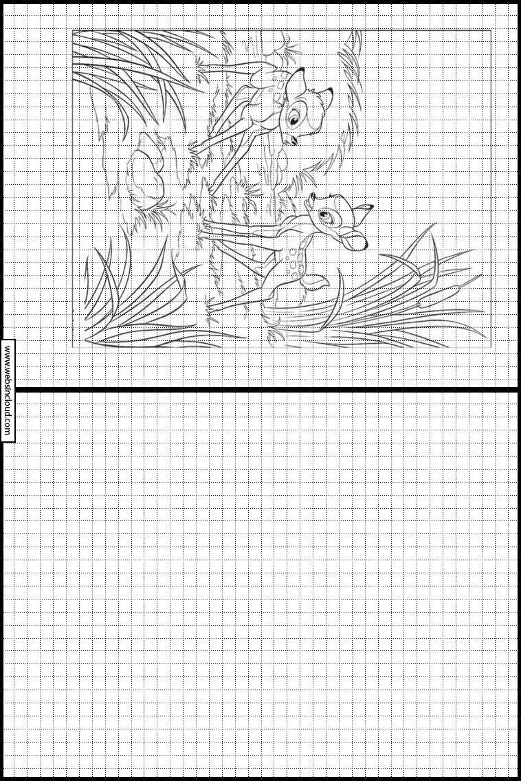 Disney 113 Apprendre À Dessiner. Activités Pour Les Enfants pour Dessin Symétrique A Imprimer