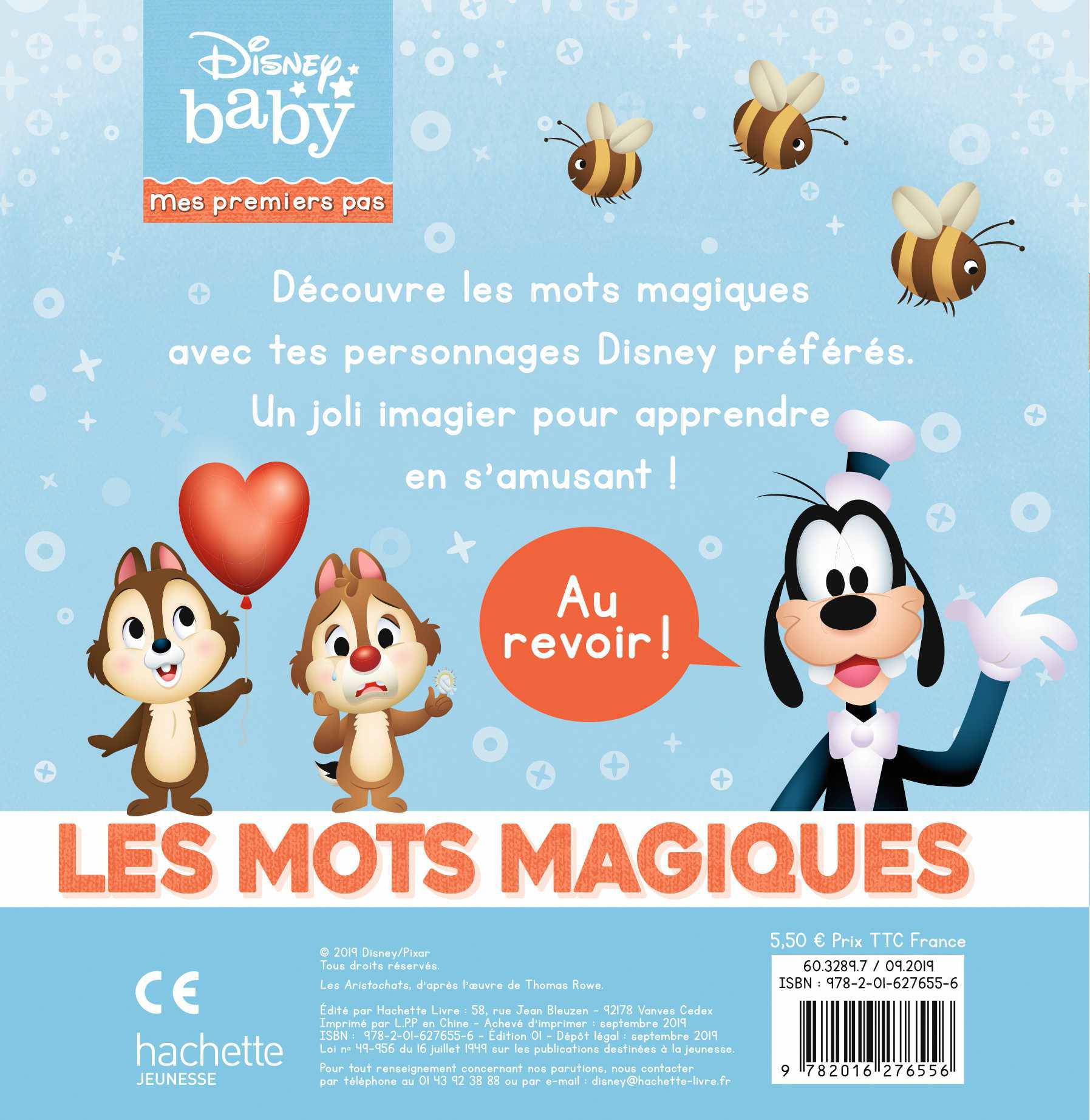 Disney Baby - Mes Premiers Pas - Imagier - Les Mots Magiques tout Imagier Bébé En Ligne