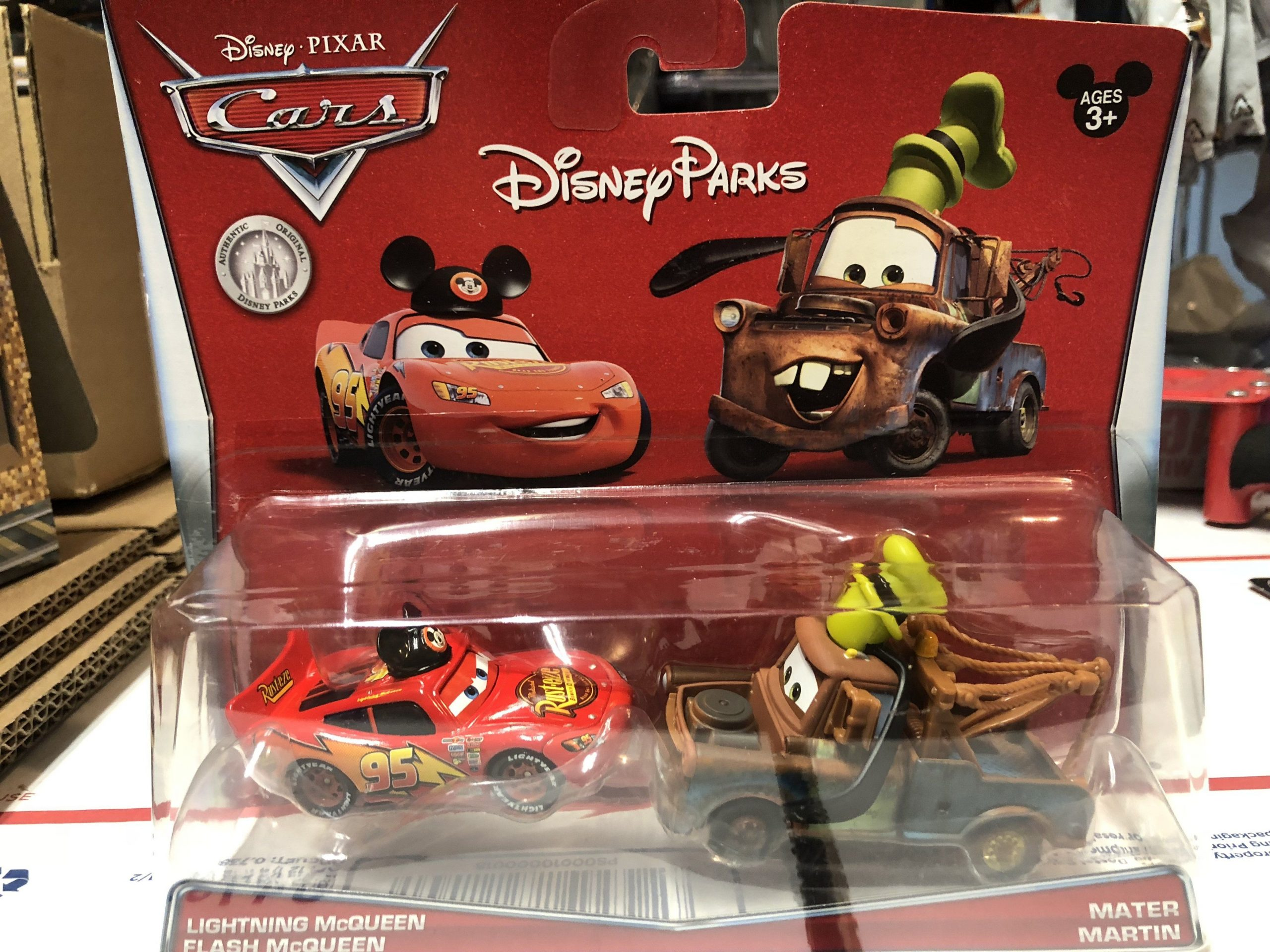 Disney Cars Carsland Exclusive Set Lightning Mcqueen As pour Flash Mcqueen Martin