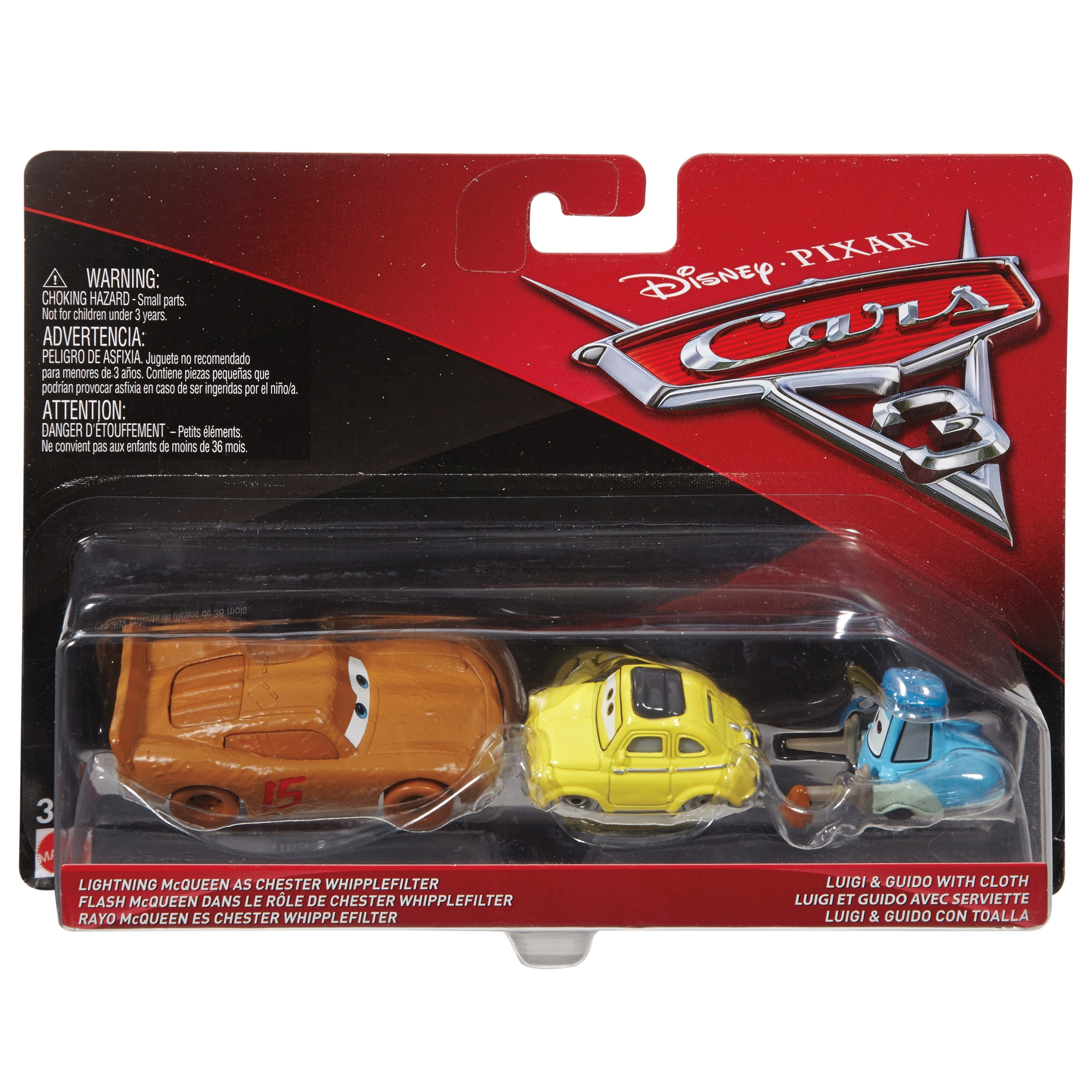 Disney Cars Character Car 2 Pack Assortment - £14.00 dedans Flash Mcqueen Martin