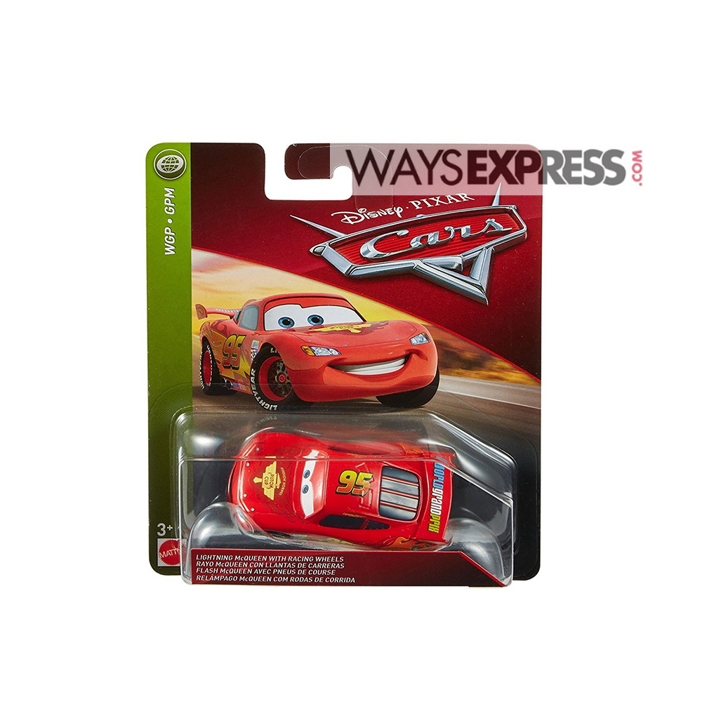 Disney Pixar Cars-Lightning Mcqueen With Racing Wheels (3+ Years) concernant Flash Mcqueen Martin
