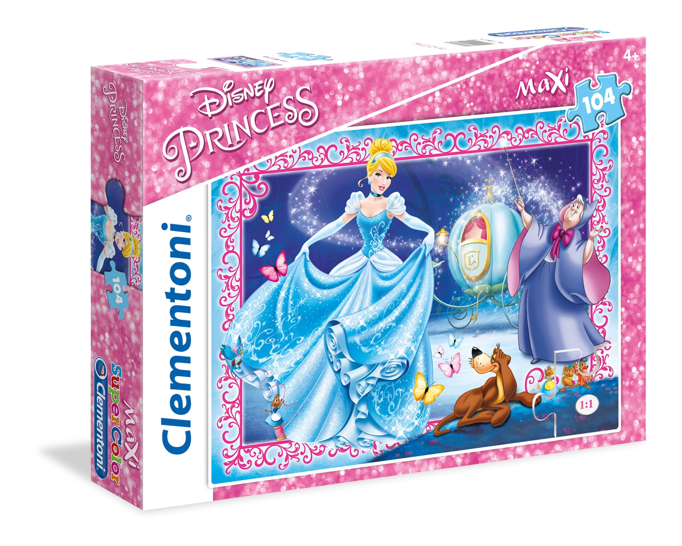 Disney Princess: Cendrillon - 104 Maxi Pcs - Supercolor serapportantà Cendrillon 3 Disney
