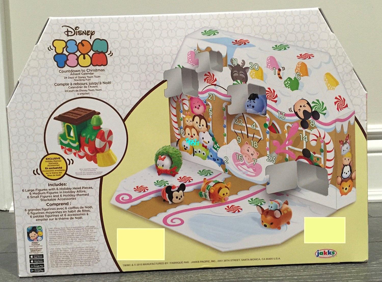 Disney Tsum Tsum 09136 Advent Calendar 2.5 X 25Cm X 38Cm By avec Paper Toy Gratuit