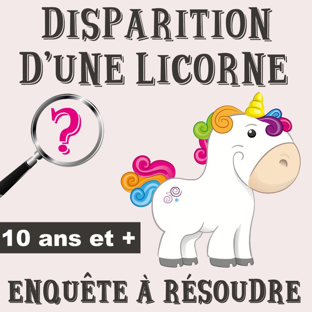 Disparition D'une Licorne avec Jeux De Fille 9 Ans