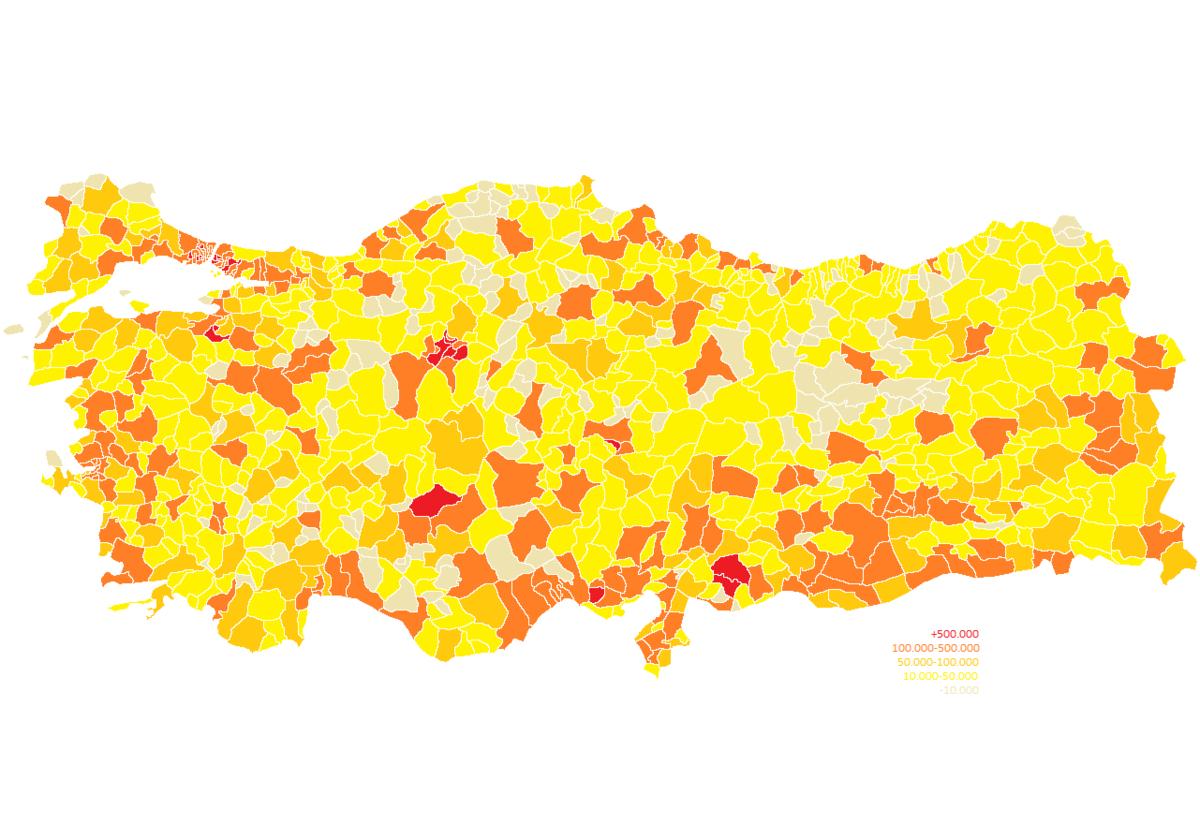 District (Turquie) — Wikipédia à Carte Departement Numero