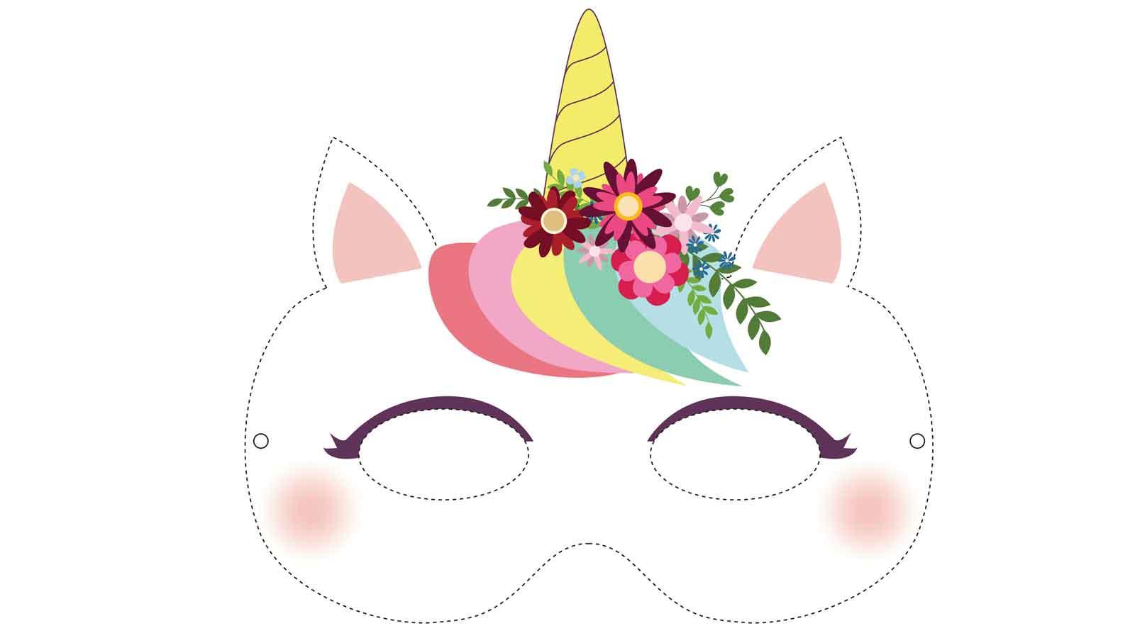 Diy : 19 Masques Gratuits À Imprimer Et Découper Soi-Même avec Masques Animaux À Imprimer