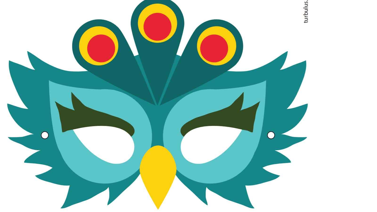 Diy : 19 Masques Gratuits À Imprimer Et Découper Soi-Même intérieur Masque À Imprimer Animaux