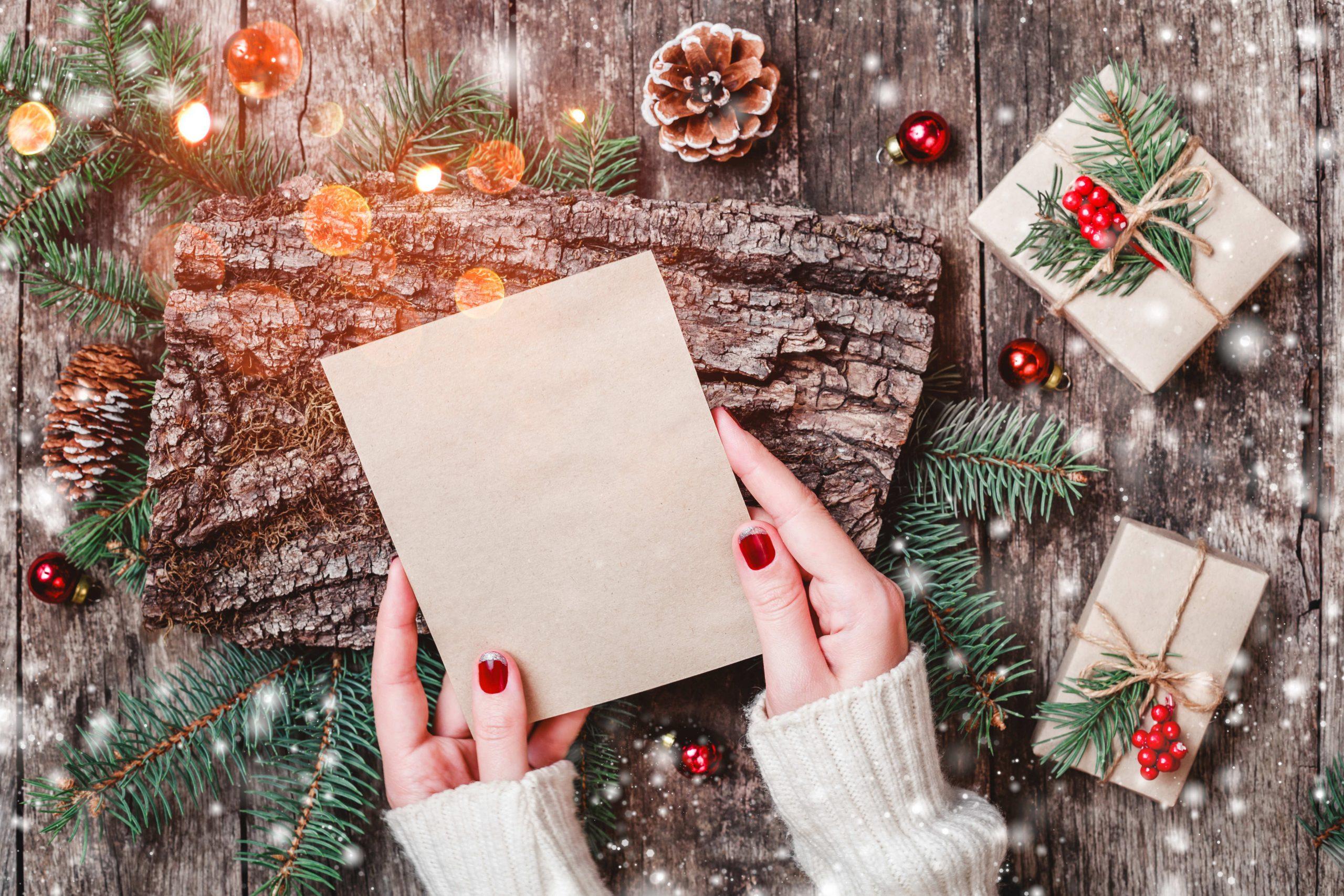 Diy : 4 Cartes De Vœux À Imprimer | Blog La Foirfouille avec Carte Joyeux Noel À Imprimer