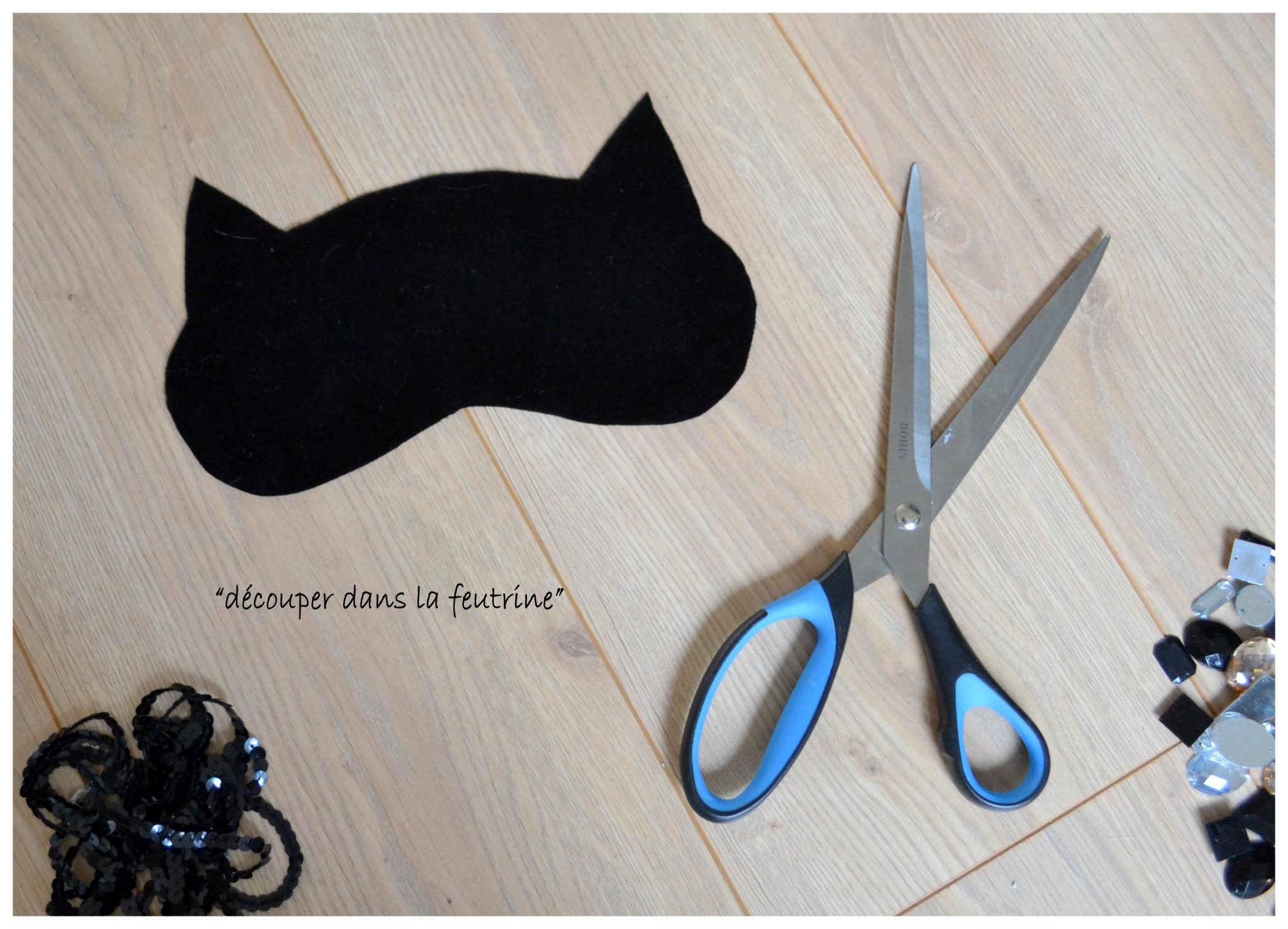 Diy- Bling Bling Cat Mask - Styl'iz destiné Masque De Catwoman A Imprimer