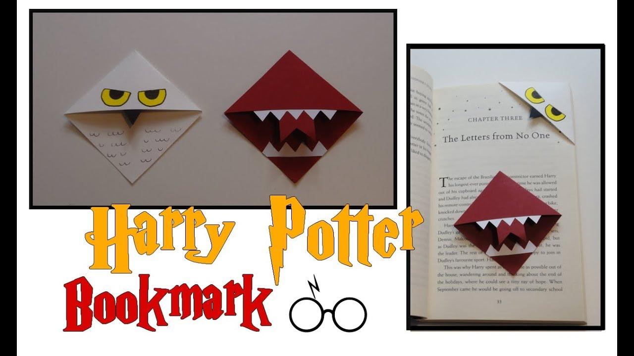 Diy Bookmark / Marque-Pages Harry Potter -- Hedwig/hedwige &  Howler/beuglante encequiconcerne Modele De Marque Page A Imprimer