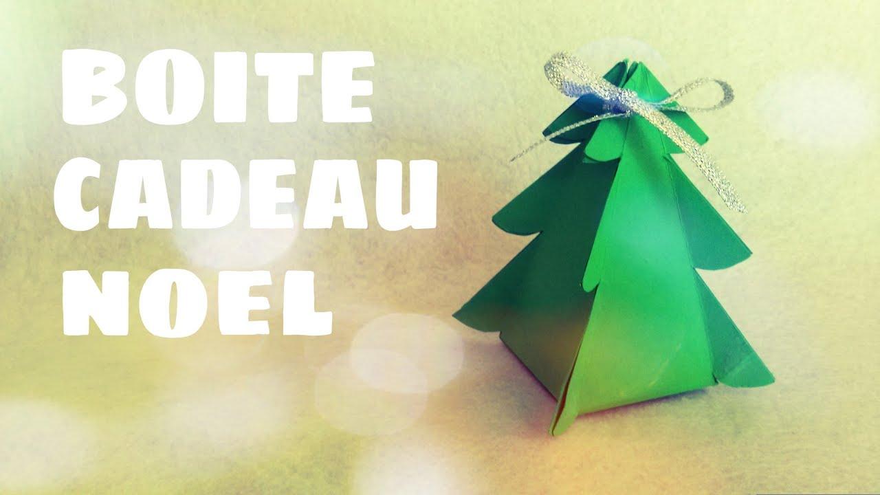Diy Cadeau De Noël - Faire Une Boite Cadeau De Noël (Sapin De Noël) tout Boite De Noel A Imprimer