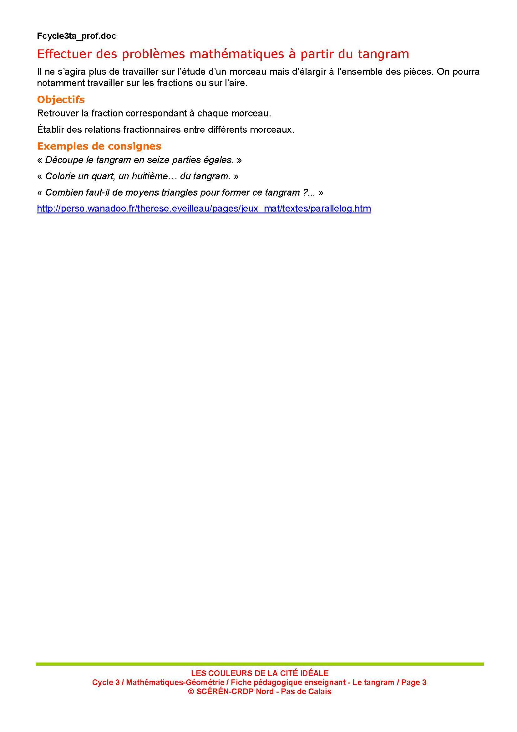 Diy] Des Tangrams En Mousse Pour Toute La Classe ! - Maikresse72 pour Tangram À Imprimer Pdf