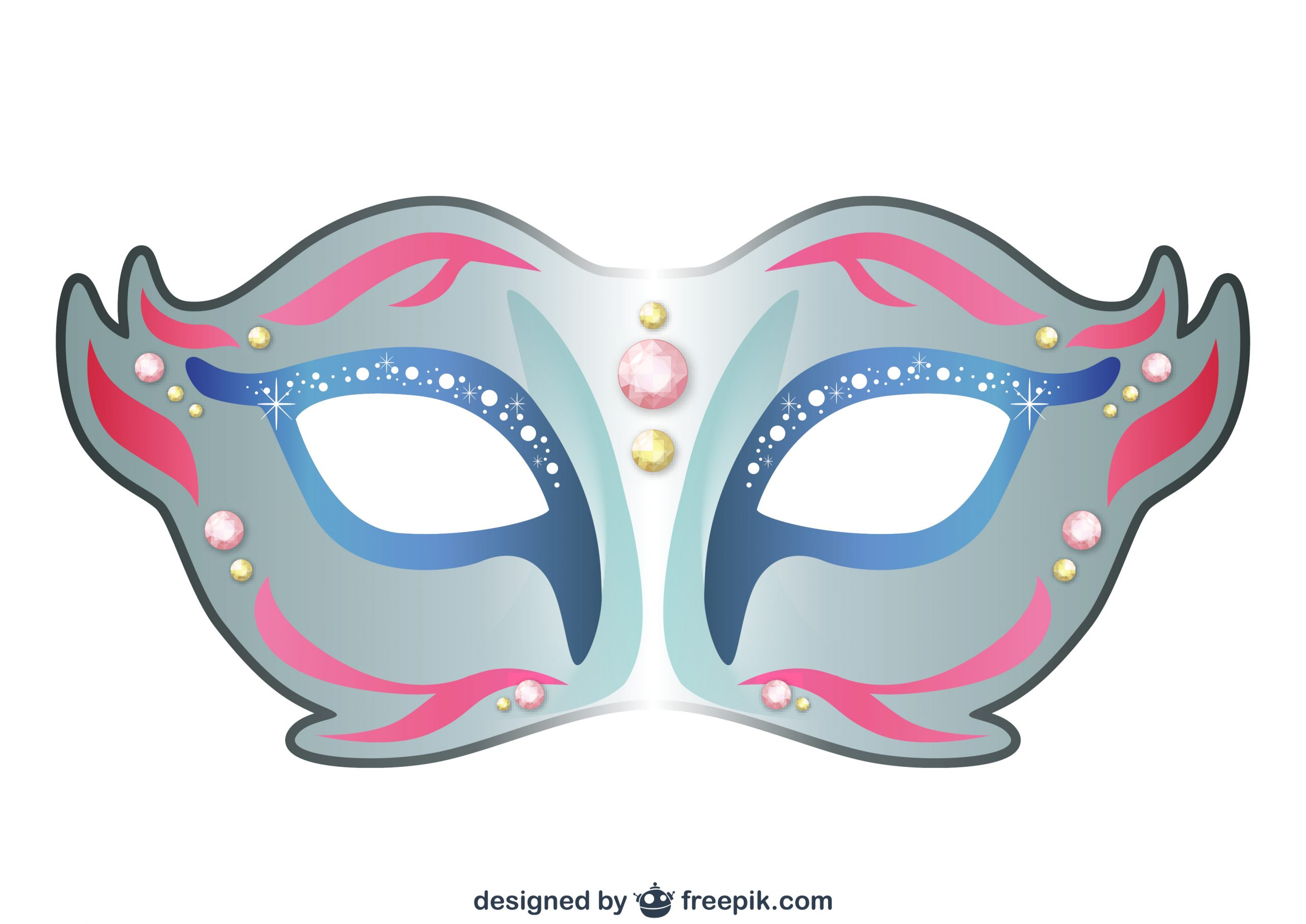 Diy : Les Masques Du Carnaval À Imprimer encequiconcerne Modele Masque De Carnaval A Imprimer