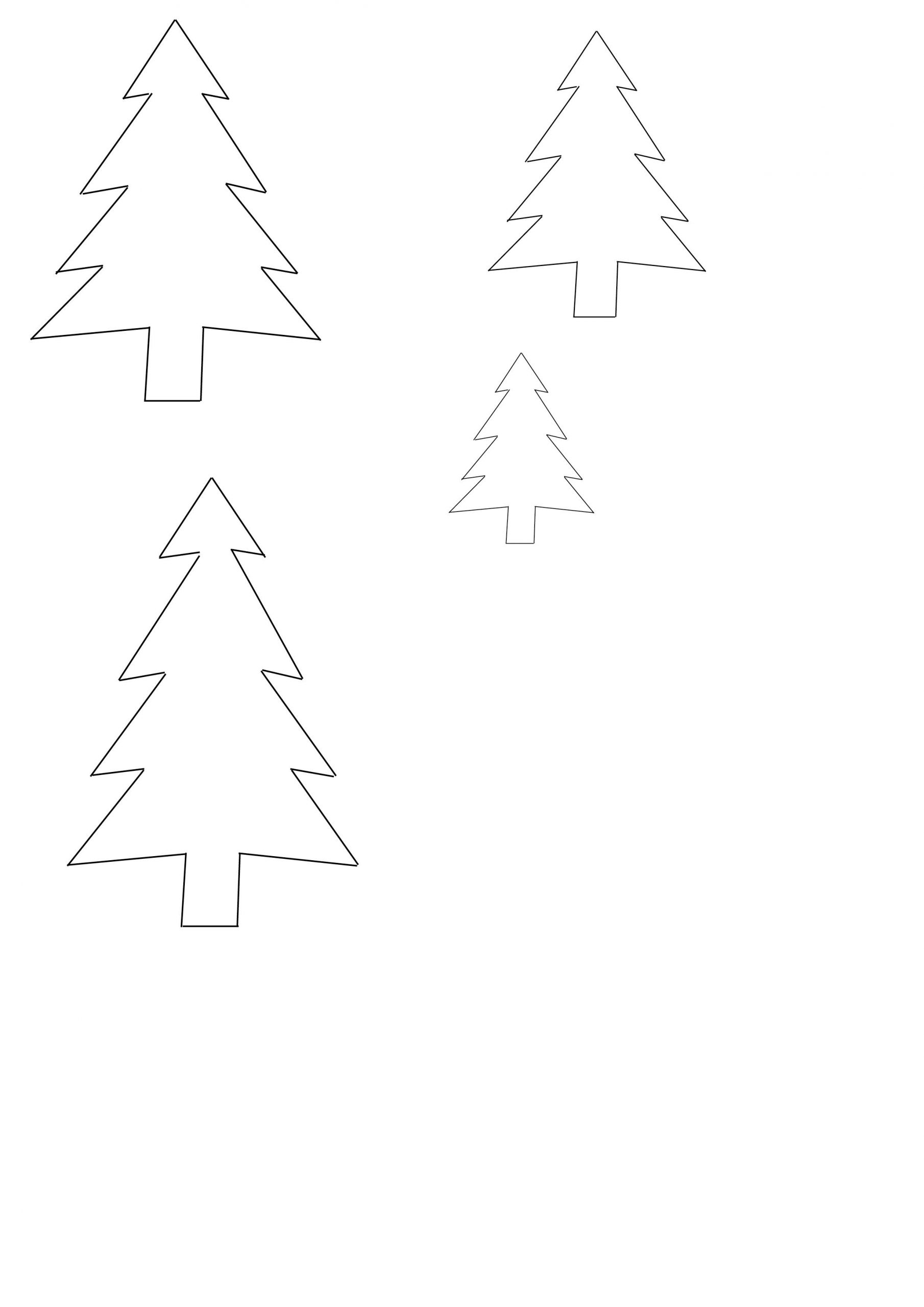 Diy Noël : Une Décoration Sous Cloche - Marie Claire avec Gabarit Sapin De Noel A Imprimer