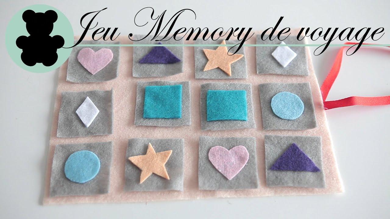 Diy Pour Enfants - Jeu Memory De Voyage - L'atelier Du Coin De La Rue serapportantà Jeu Memory Enfant